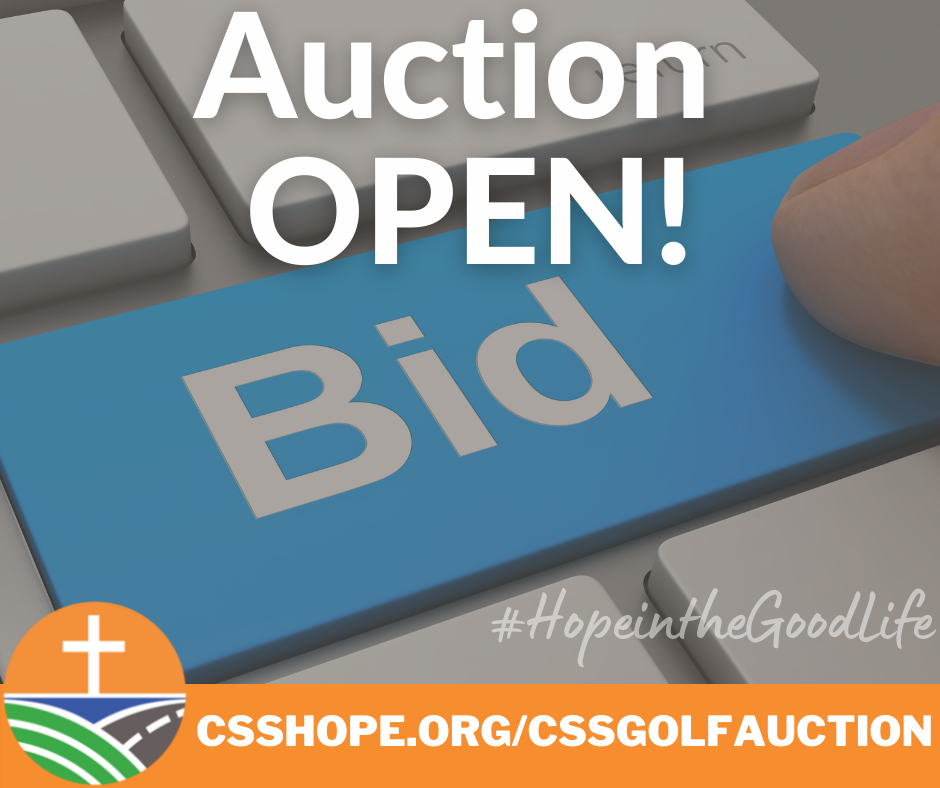 Register, Bid, WIN! Check out our 2021 Golf Auction- BIDDING OPEN now until August 6th!