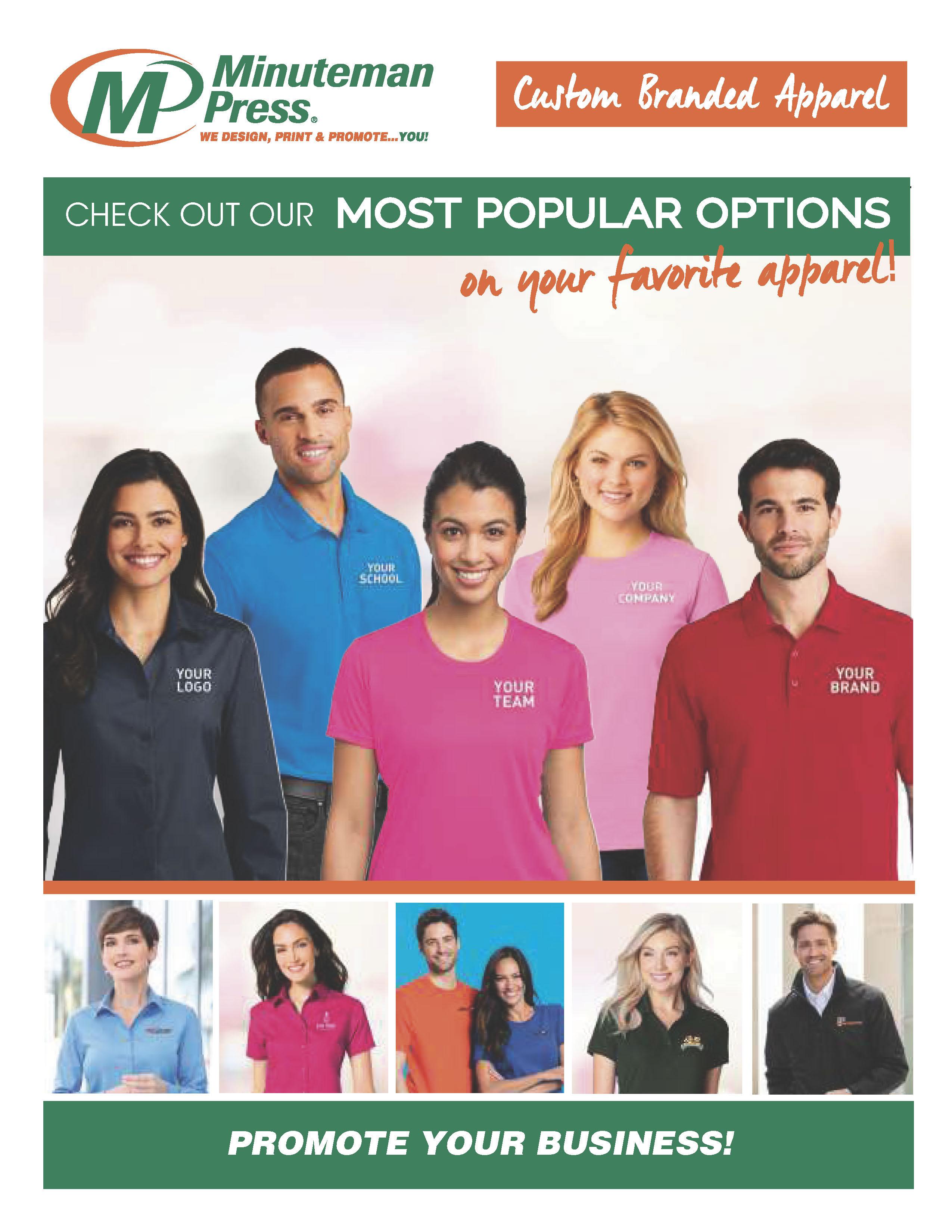 Browse Apparel Catalog