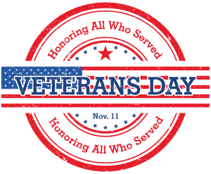 Veteran's Day - Clubs Opened