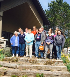 North of 45 Writers Retreat Participants 2016