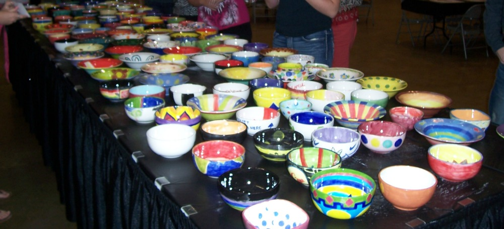 Empty Bowls Project 2016