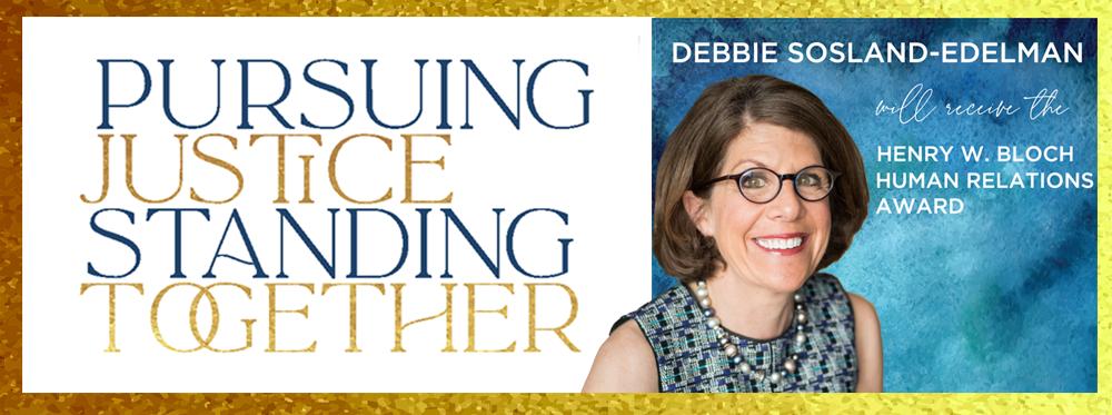 2020 Human Relations Event honoring Debbie Sosland-Edelman