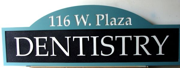 BA11553 - Carved Dentistry Office Sign