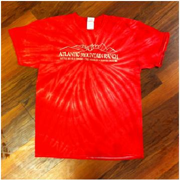 AMR Red Tie Dye T-Shirt