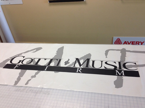 Die Cut Vinyl Fabrication