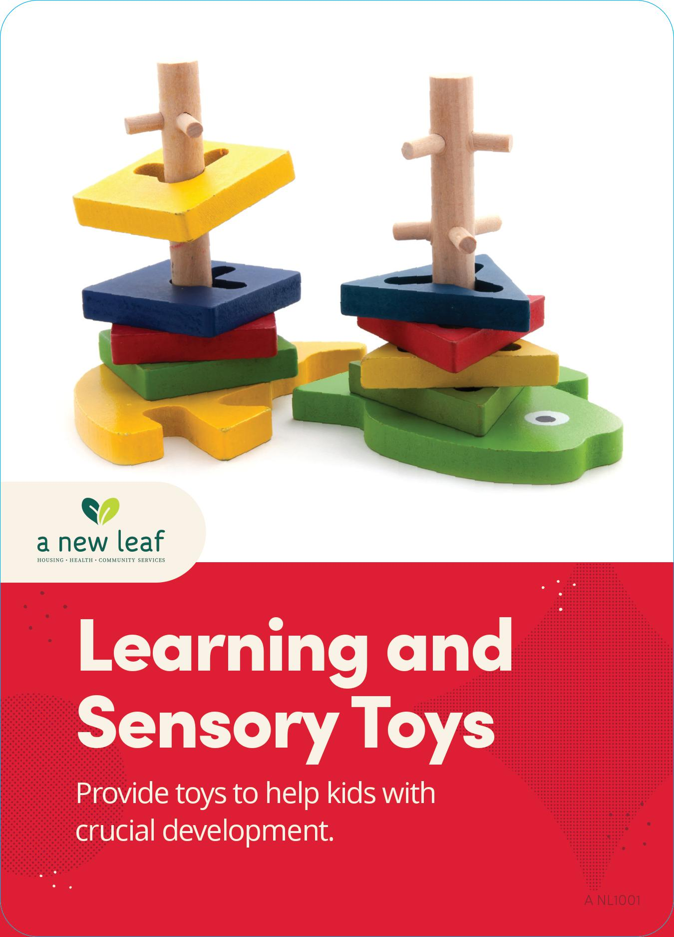 $20 - Learning and Sensory Toys for Children in Need