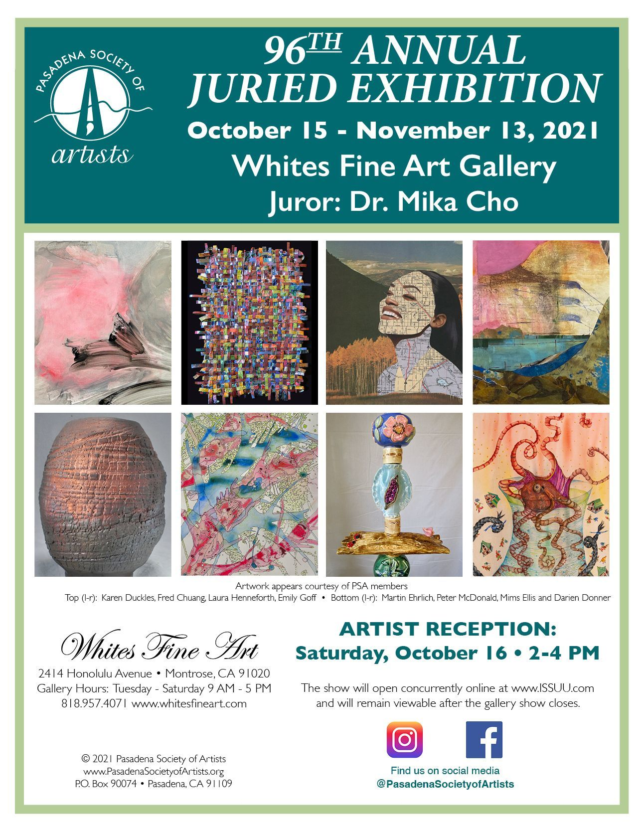 96th Annual PSA Juried Exhibition