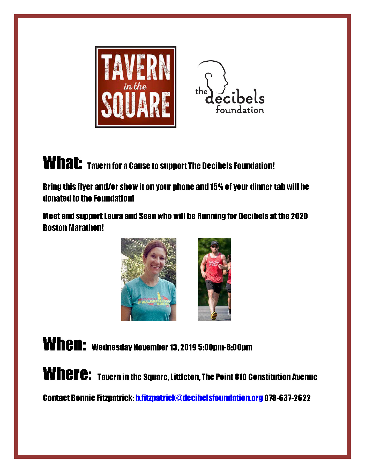 Tavern for a Cause Event
