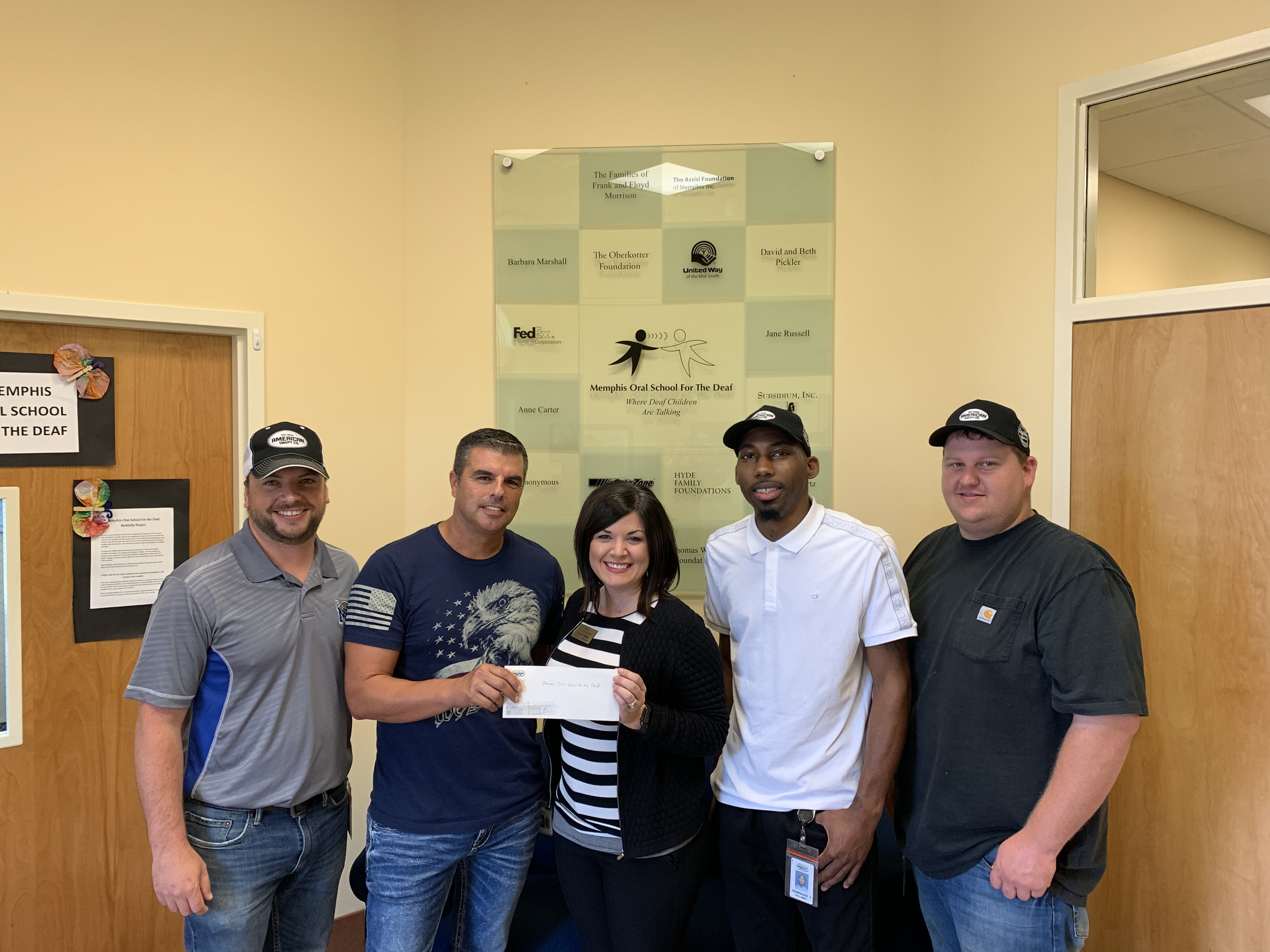American Snuff Gives MOSD $7,500