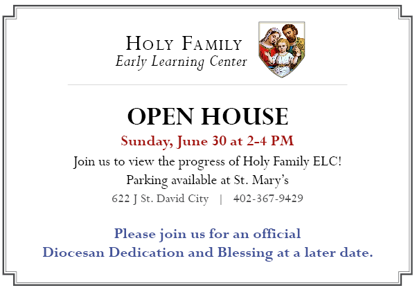 Holy Family Early Learning Center