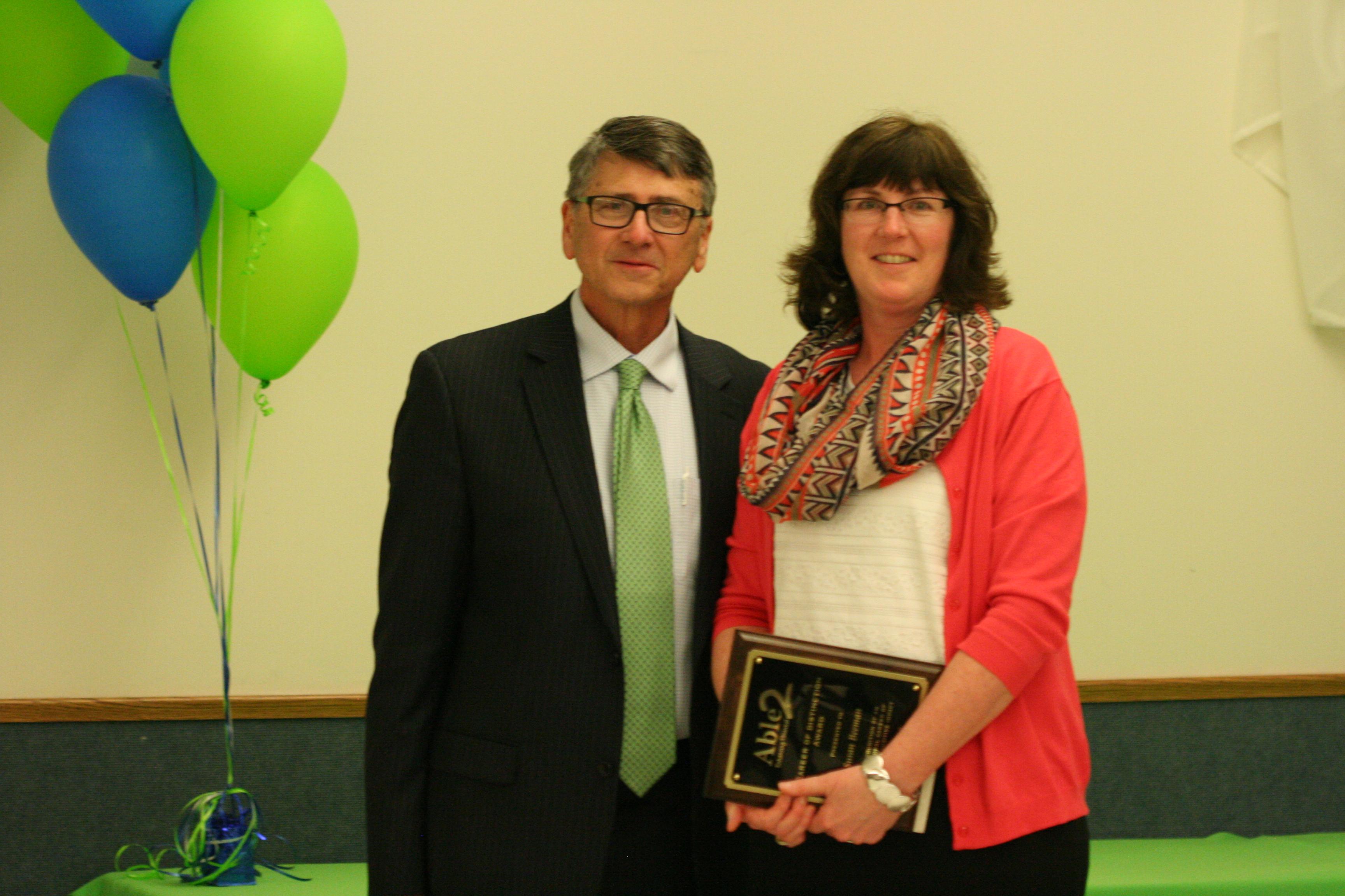 Sue Beeman, Career of Distinction Award Recipient