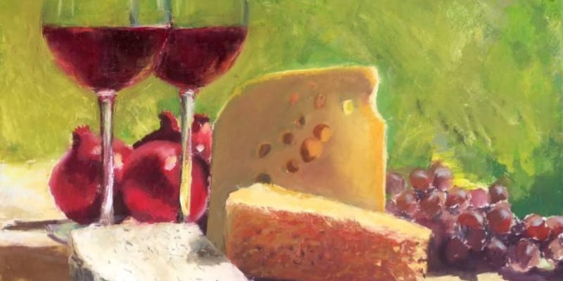 Wine and Cheese Tasting Party at the Big Red Barn