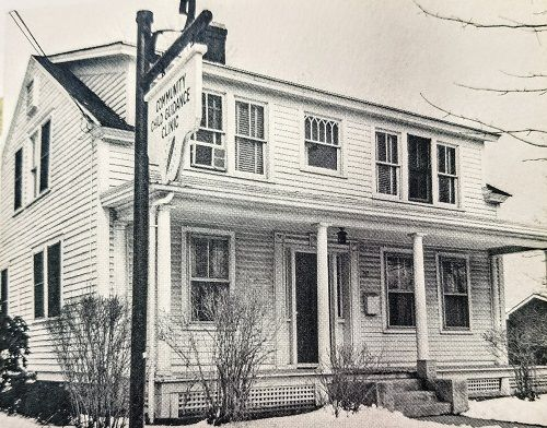 Historical archive: Community Child Guidance Clinic building