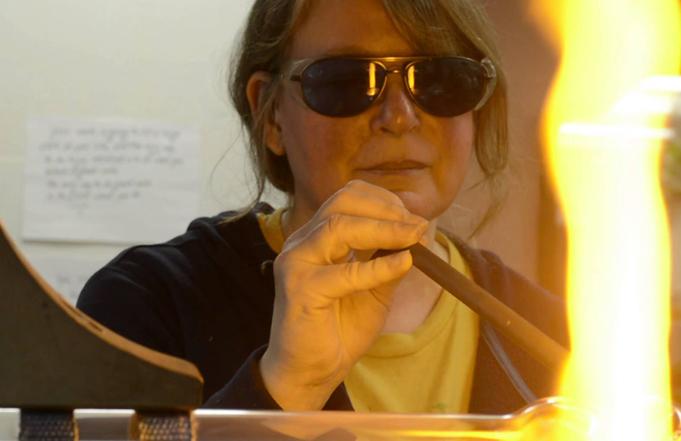 Glass Artist Sally Prasch Visits Montana Western