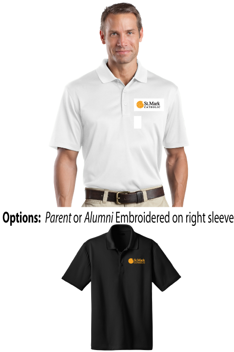 Embroidered - Parent or Alumni Polo - Mens