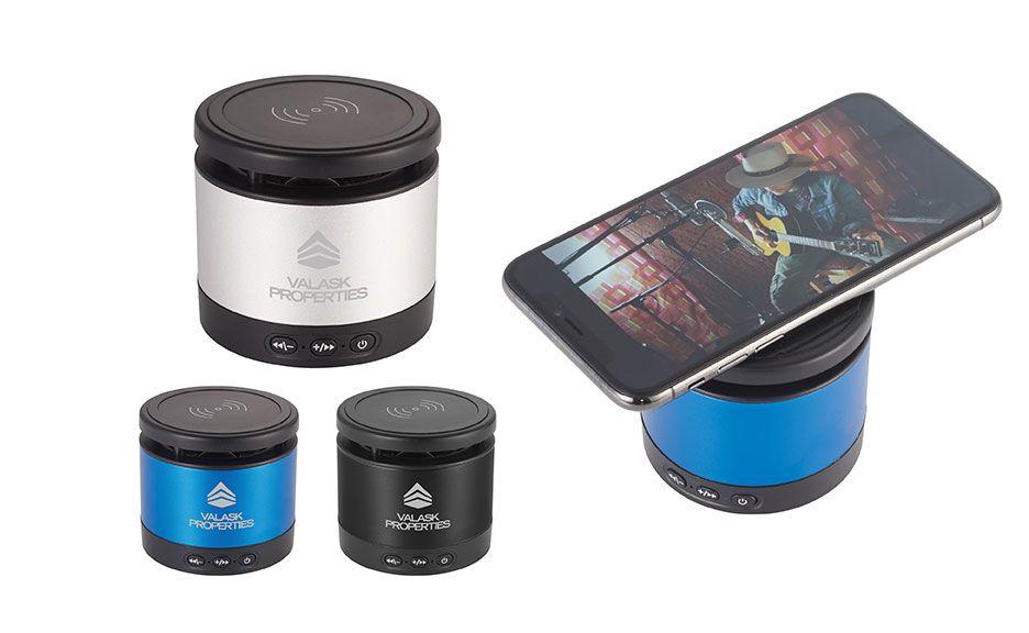 Metal Speaker and Wireless Charging Pad
