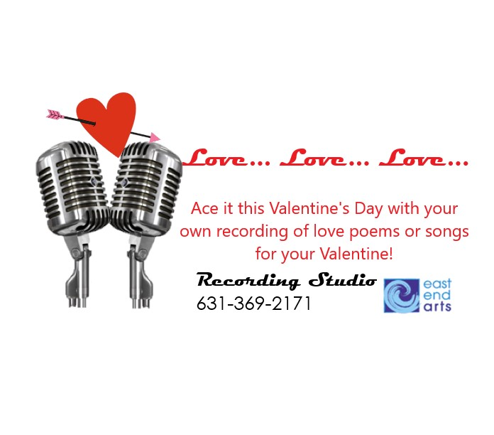 Recording Studio Valentine's Day