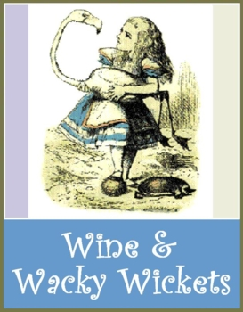 Wine and Wacky Wickets event set