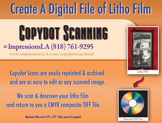 Copydot Scans Corporate ImpressionsLA