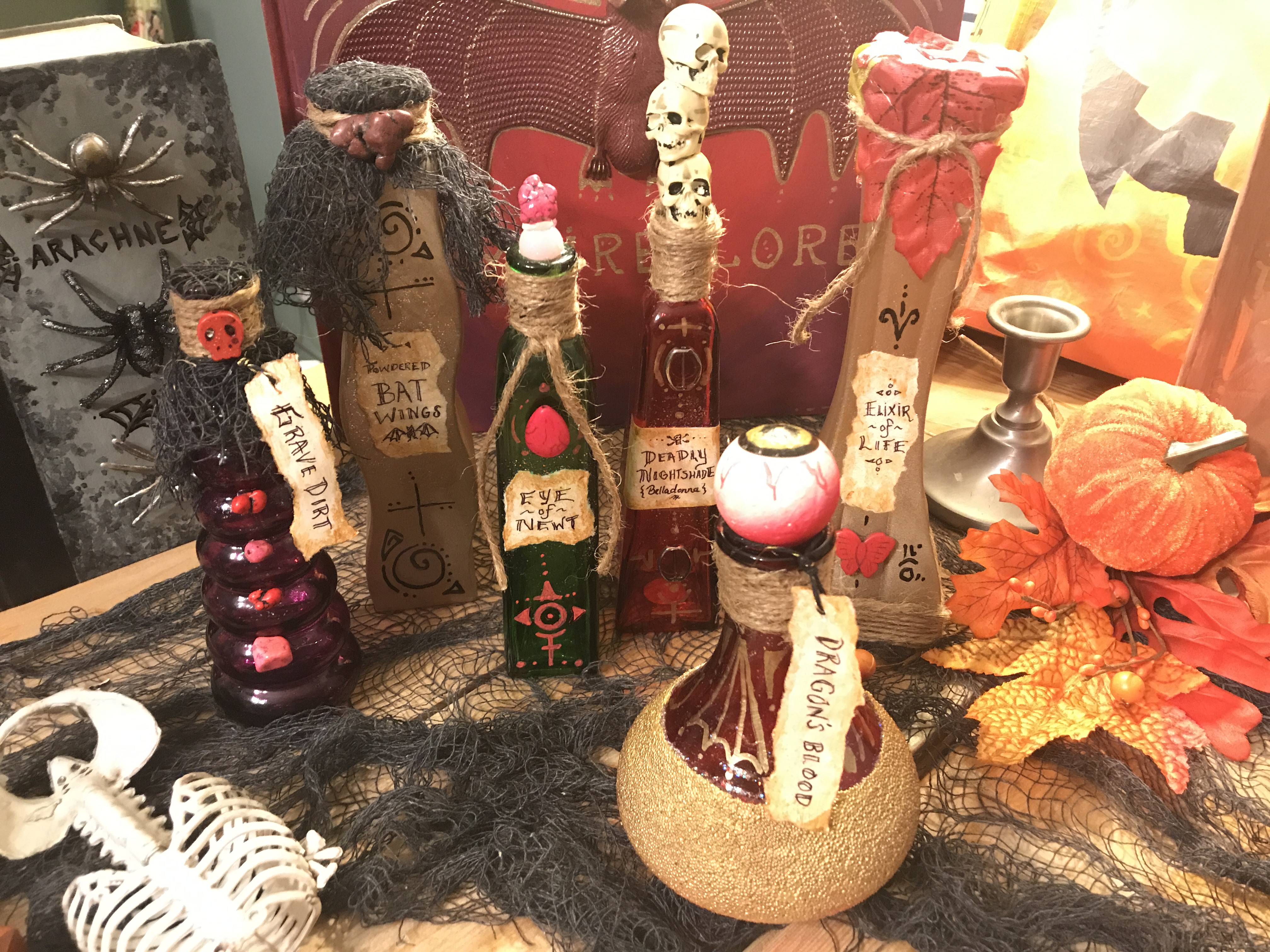 Potion & Elixir Bottles