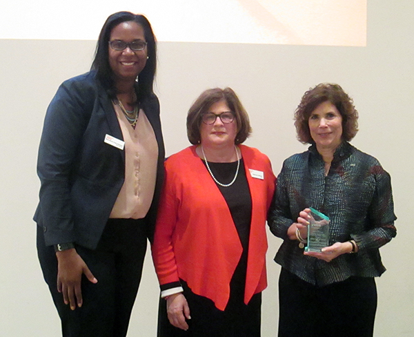Creating opportunties award - empowering women - eliminating racism