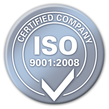 ISO 9001-2008 Certified