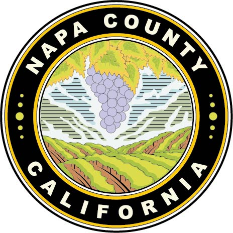 CP-1360- Carved Plaque of the Seal of Napa County, California, Artist Painted