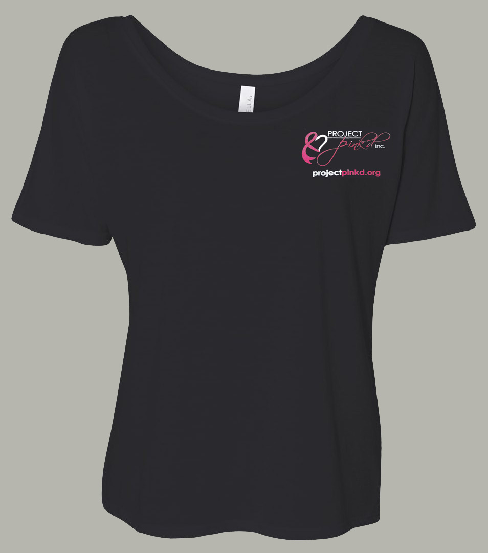 Pink'd Women's Slouchy Fit Tee