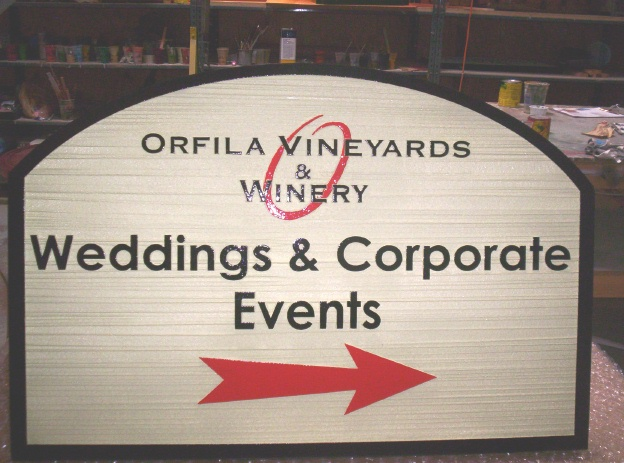 R27050 - Orfila Vineyards Wayfinding Sign