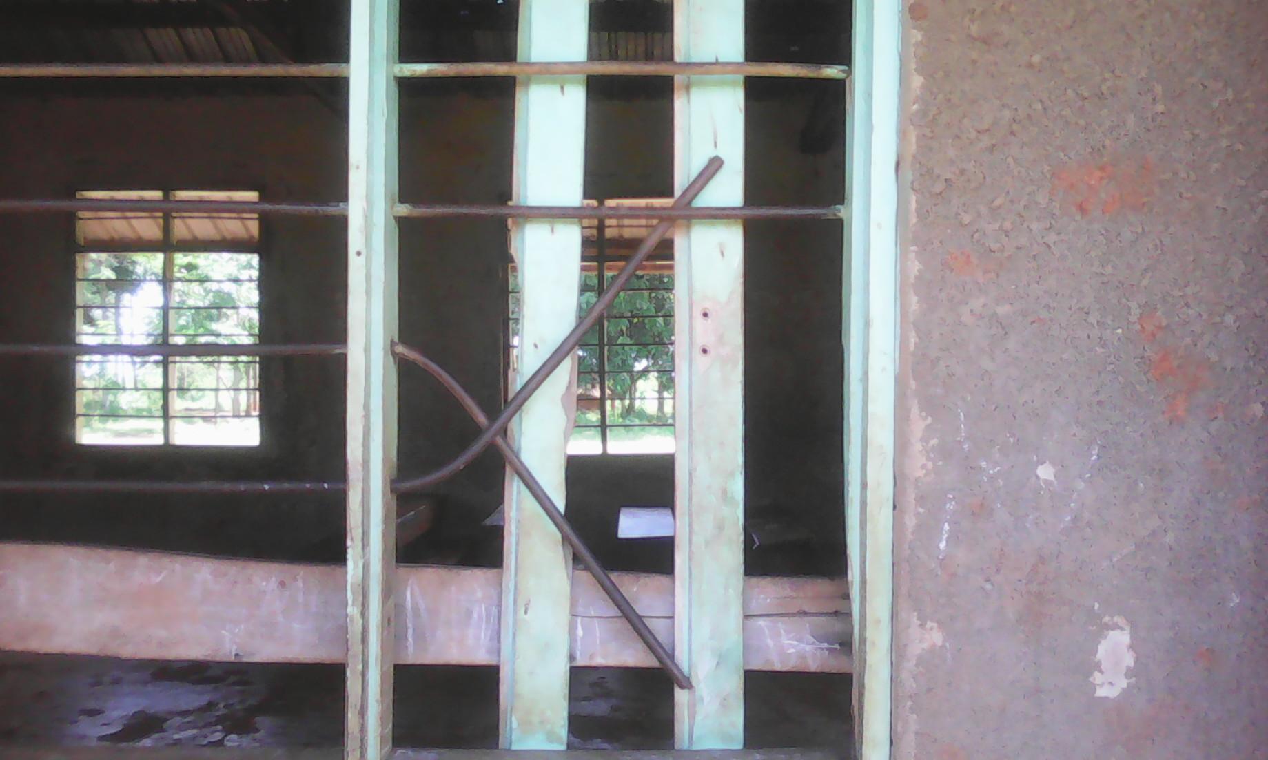 Prior lightning damage to Runyanya School