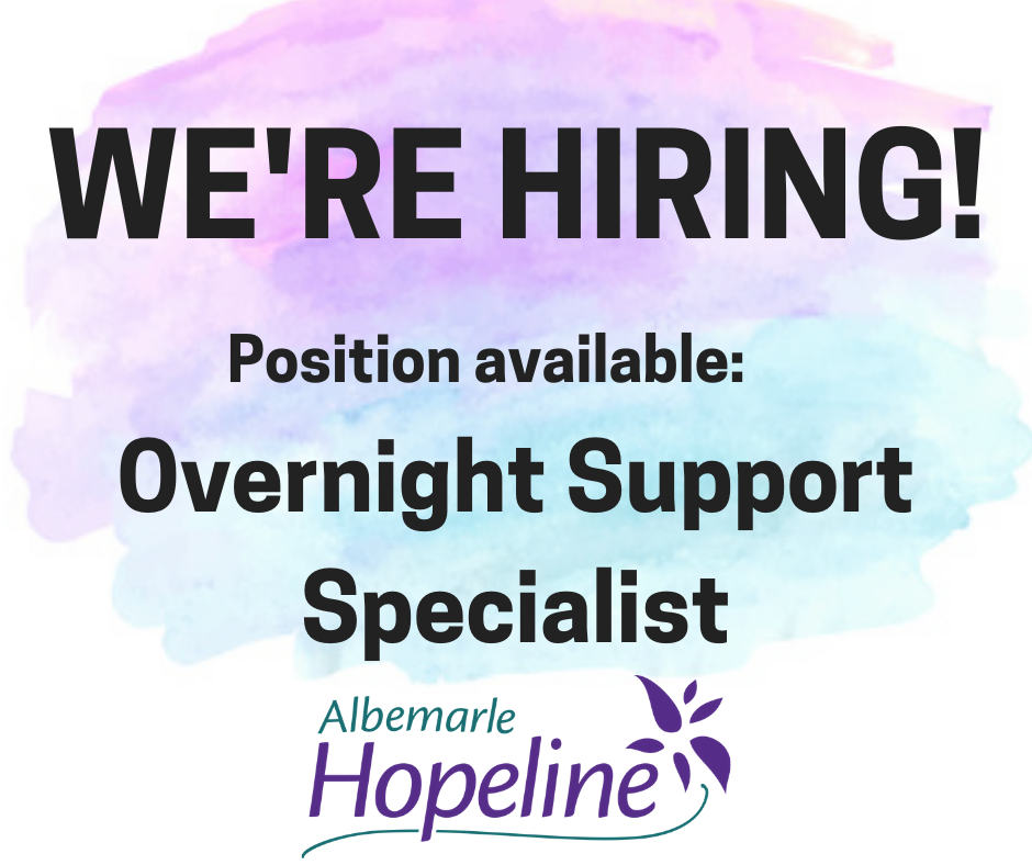 Overnight Support Specialist