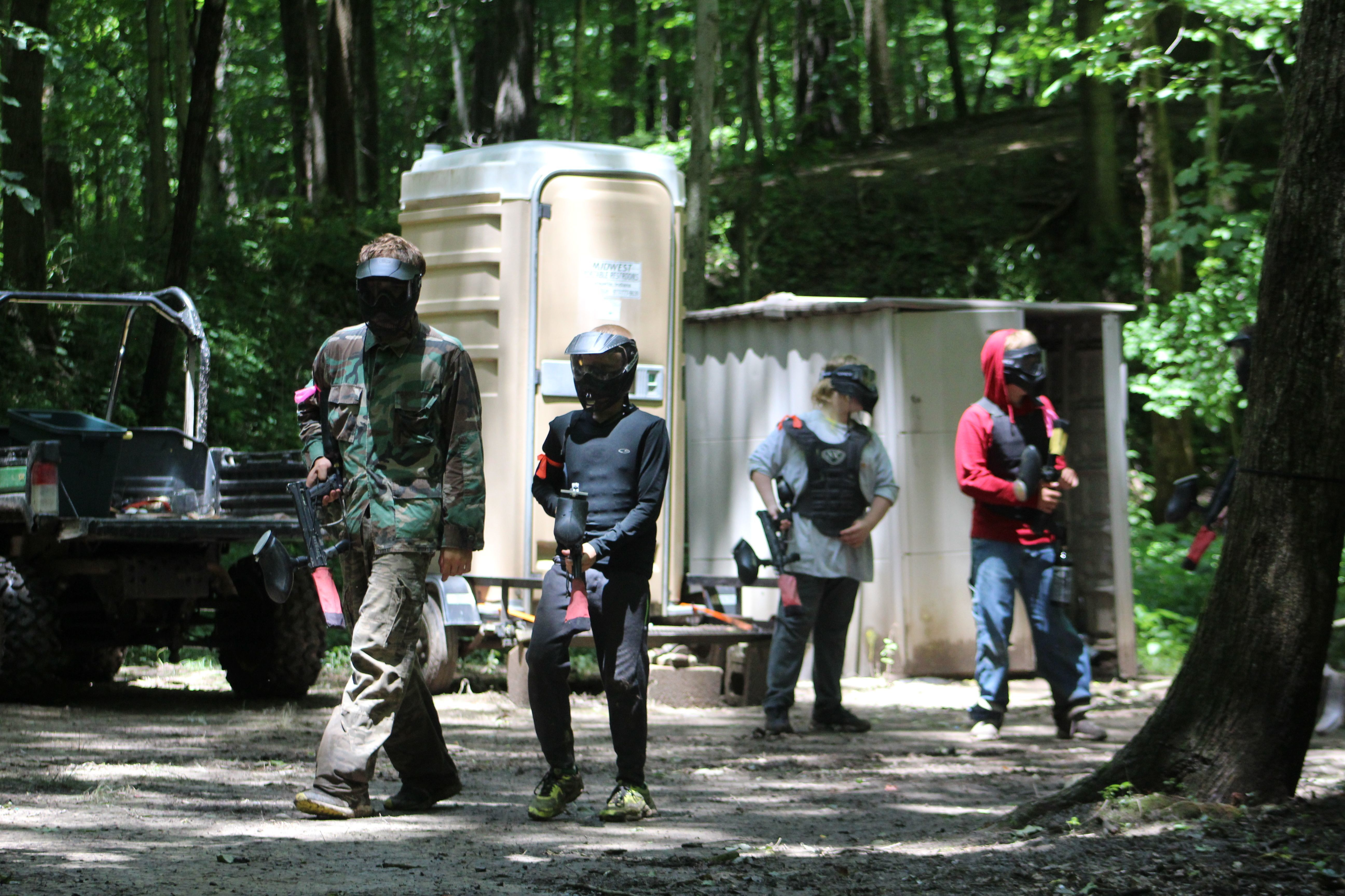 Paintball Camp