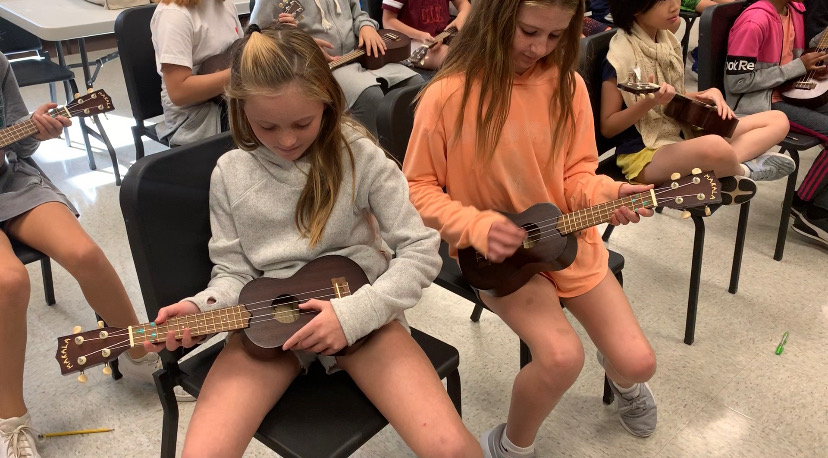Foundation Awards $2,500 for Ukuleles at Skyview