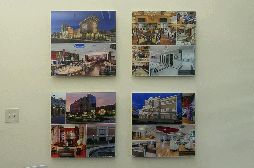 Dickinson Architects Offset Acrylic