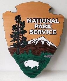 National Park /& Forest Service Style Sign: Park Camping Campground Sign Outdoor Wood Sign NPS FS Vintage Wooden Scenic Sign 715p Parking
