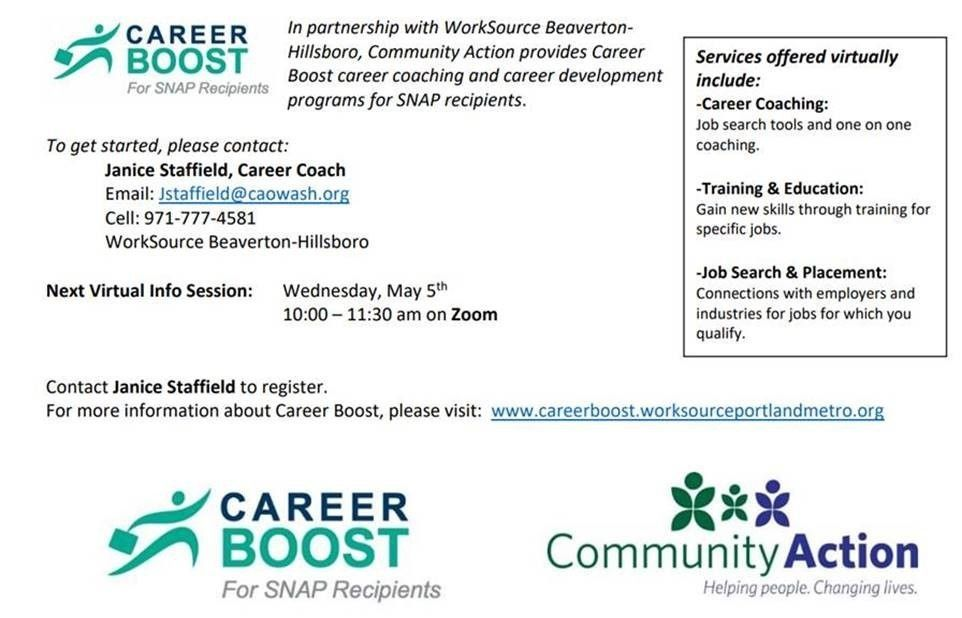 Career Boost Info Session