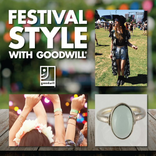 Festival Style with Goodwill!