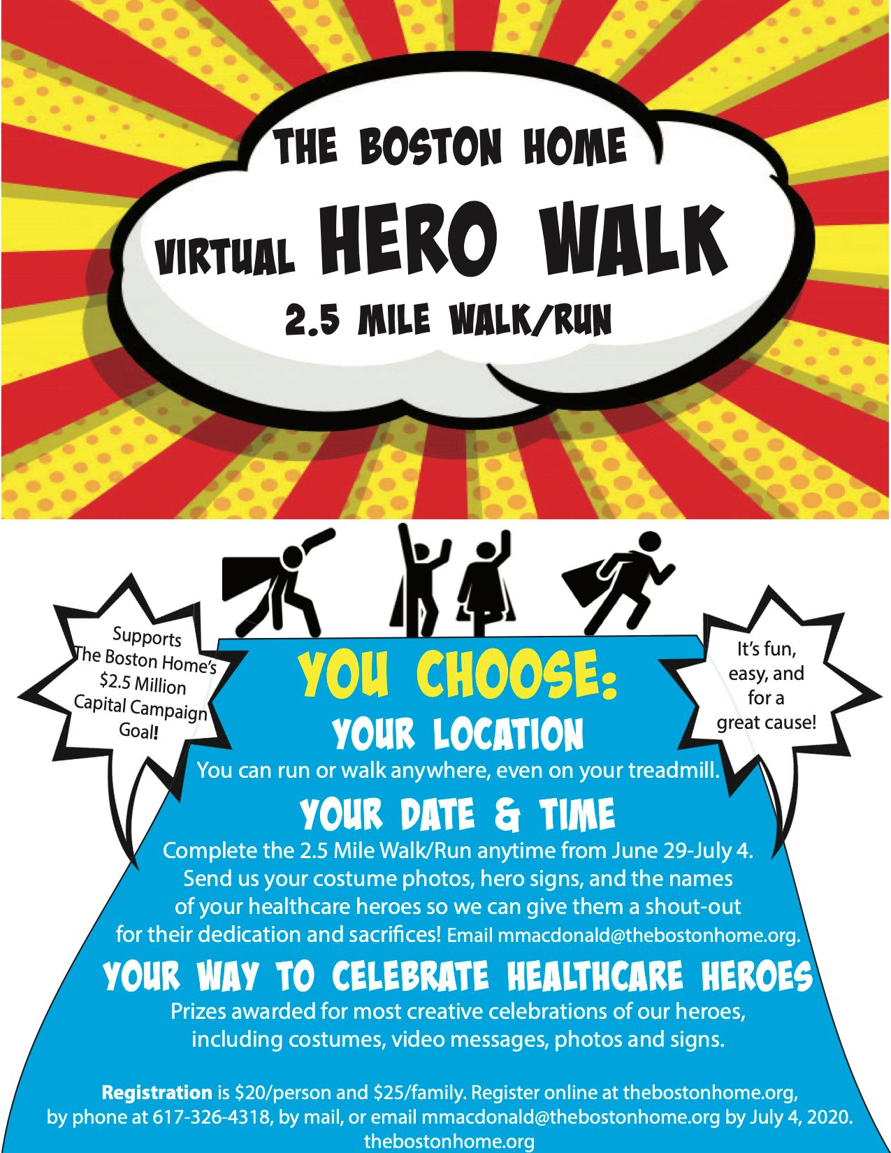 The Boston Home's Virtual Hero Walk