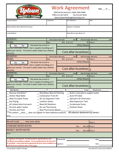 Service Center Business Forms Minuteman Press Printing – Business Form