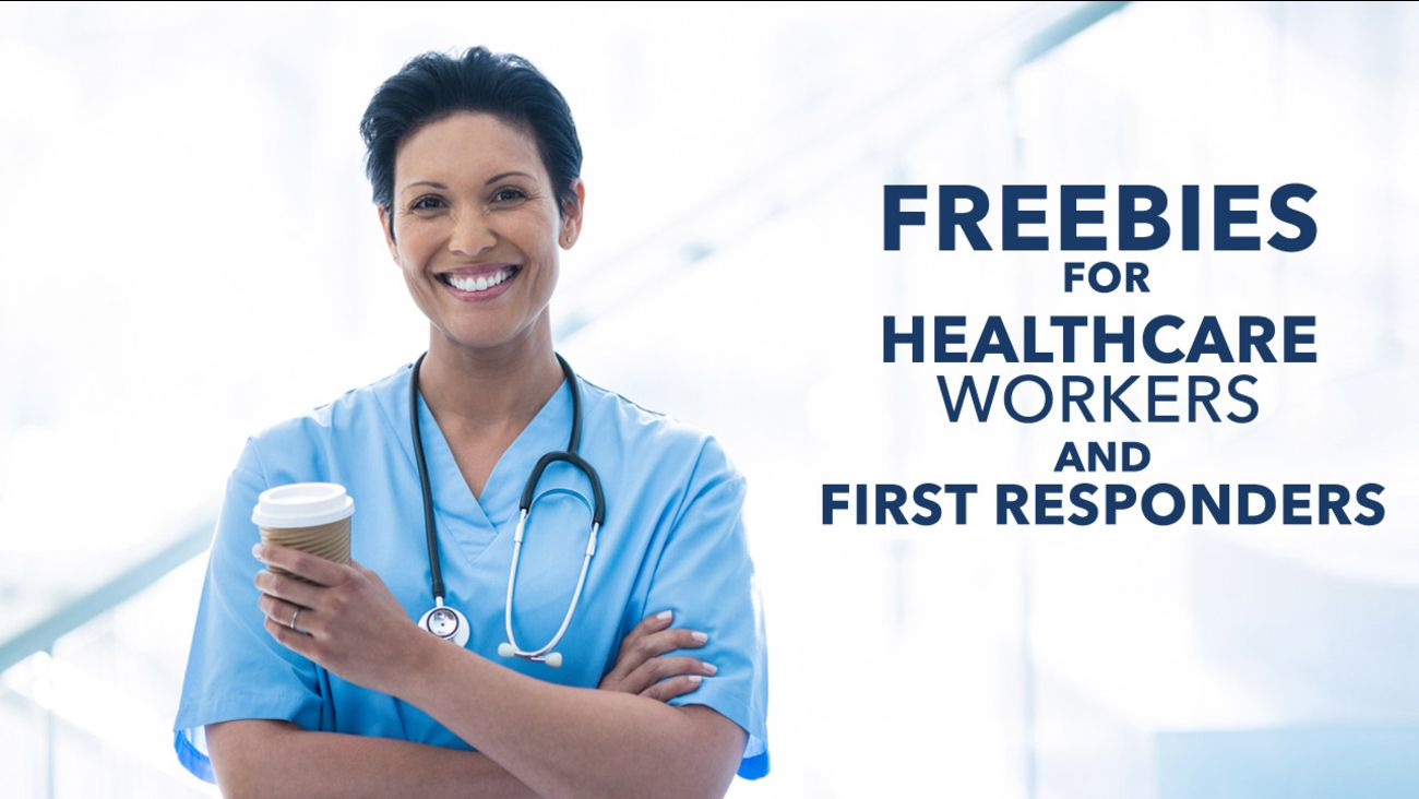 Freebies for Healthcare Workers!