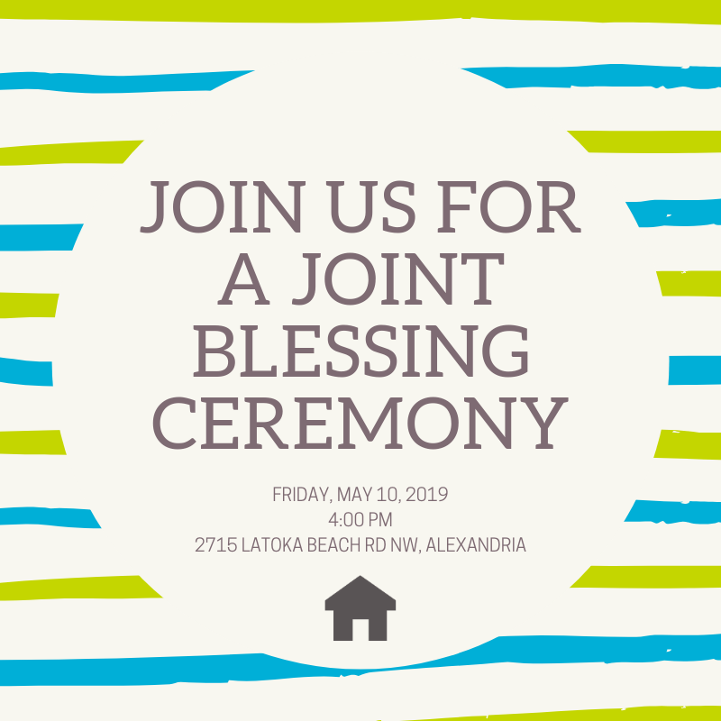 Joint Blessing Ceremony May 10, 2019
