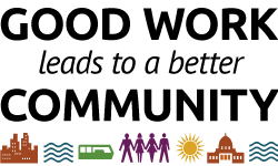 Good work leads to a better community