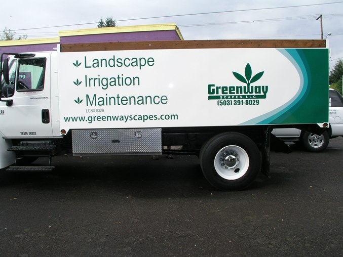 Greenway Scapes Vehicle Wrap