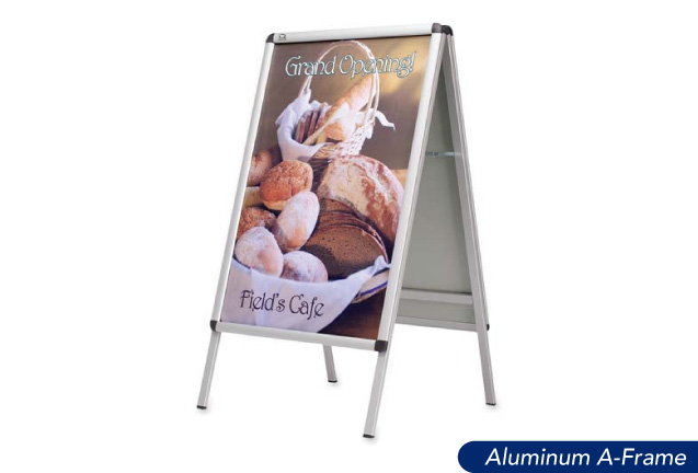A-Frame Signs (Aluminum or Plastic)