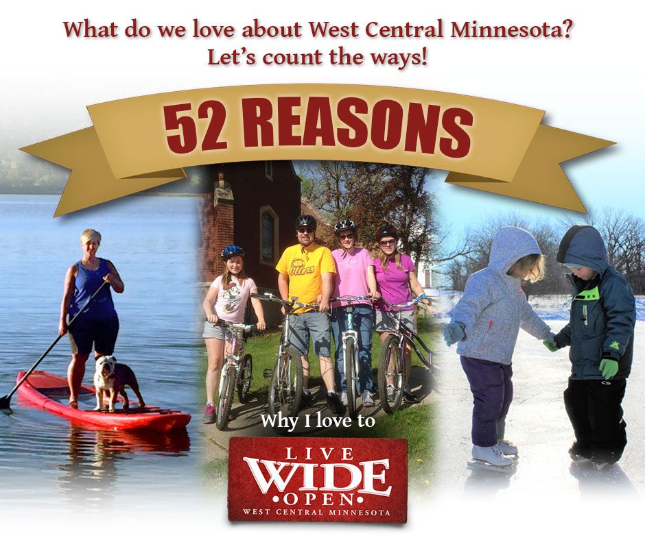 Share What You Love about West Central Minnesota