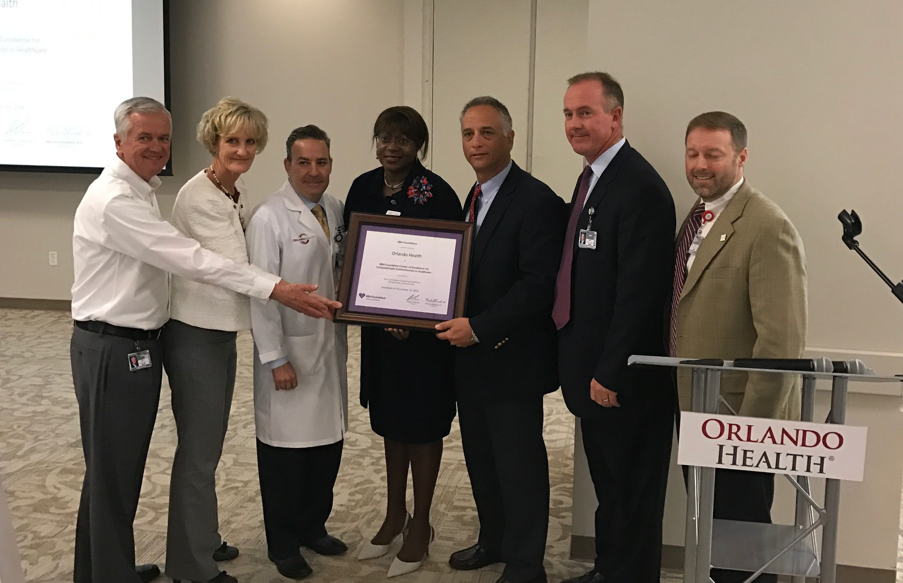 Orlando Health Becomes a BBN Foundation Center of Excellence