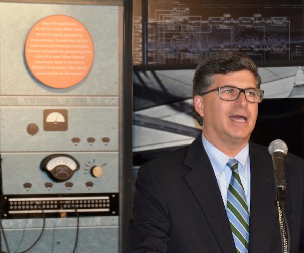 Associate Director of Strategic Communications Jonathan Freed