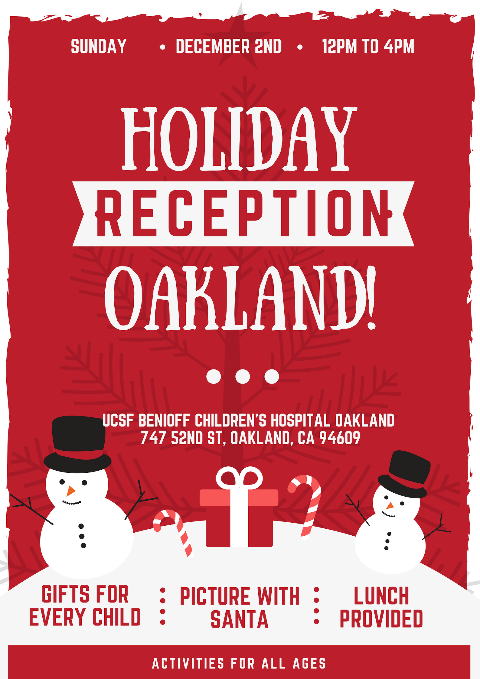 Holiday Reception, Oakland