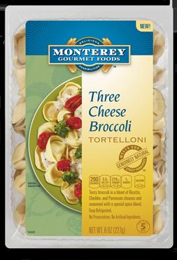 Three Cheese Tortolini