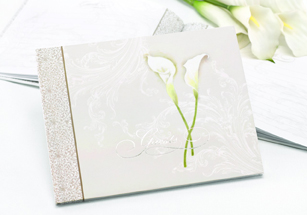 Calla Lily Guest Book
